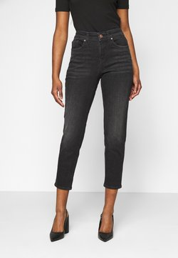 Vero Moda Petite - VMCLARA RELAXED TAP  - Jeans Relaxed Fit - black