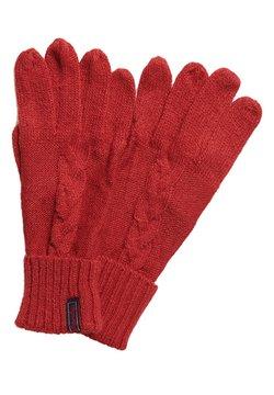 Superdry - Fingerhandschuh - furnace red