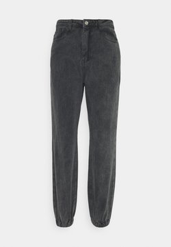Missguided - RIOT HIGHWASITED MOM - Jeans Relaxed Fit - black