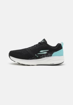 Skechers Performance - GO RUN RIDE 8 - Zapatillas de running neutras - black/turquoise