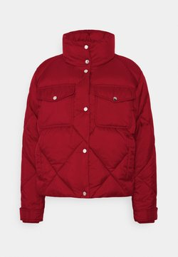 Tommy Jeans - TJW DIAMOND QUILTED - Winterjacke - wine red