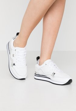 Tommy Hilfiger - FEMININE ACTIVE CITY  - Sneakers laag - white/silver