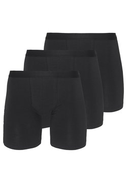 Pier One - 3 PACK - Shorty - black