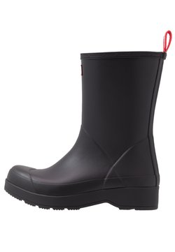 Hunter ORIGINAL - MENS INSULATED PLAY BOOT MID - Gummistiefel - black