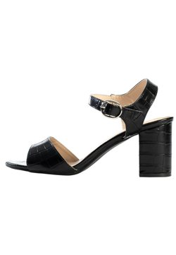 Celena - Sandalen met hoge hak - black melange