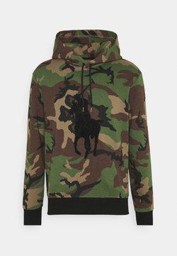 Polo Ralph Lauren - DOUBLE TECH - Sweatshirt - khaki