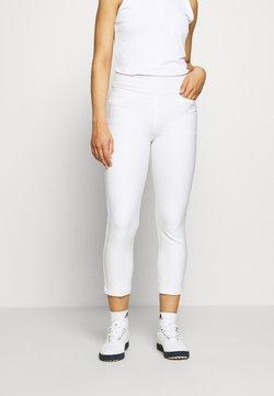 adidas Golf - PULLON ANKLE PANT - Stoffhose - white
