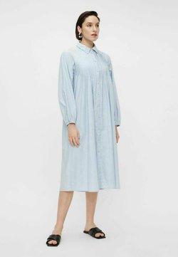 YAS - Vestido camisero - cashmere blue