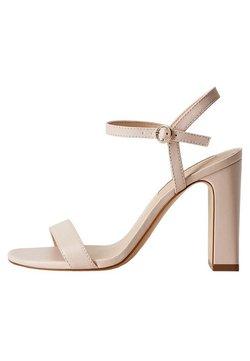 Mango - AIR - High Heel Sandalette - nude