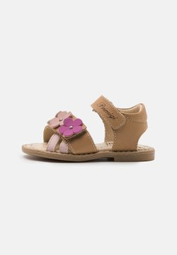 Primigi - Sandaalit nilkkaremmillä - beige scuro
