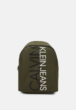 Calvin Klein Jeans - INSTITUTIONAL LOGO BACKPACK - Reppu - green