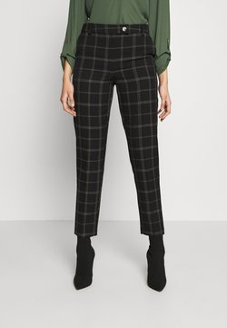 Dorothy Perkins Tall - TALL EDIT GRID CHECK ANKLE GRAZER TROUSER - Stoffhose - multi
