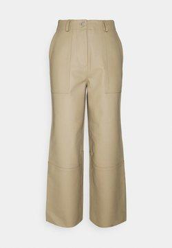 Deadwood - PRESLEY PANTS - Trousers - beige