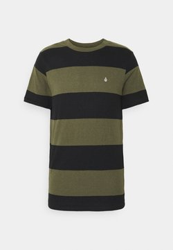 Volcom - HANDSWORTH CREW - T-Shirt print - military
