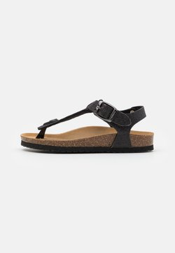 Friboo - Sandaler m/ tåsplit - black