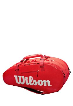 "Wilson - WILSON TENNISTASCHE ""LARGE SUPER TOUR 2"" - Sporttasche - red"