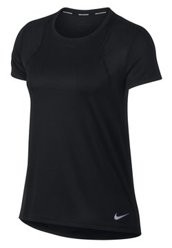 Nike Performance - RUN - Camiseta básica - black/black