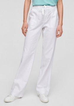 Q/S designed by - Pantalon classique - white