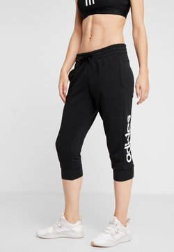 adidas Performance - Pantalón 3/4 de deporte - black/white