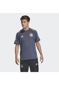 adidas Performance - DEUTSCHLAND DFB TRAINING SHIRT - Print T-shirt - onix