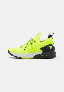 Under Armour - PROJECT ROCK 3 - Kuntoilukengät - high-vis yellow