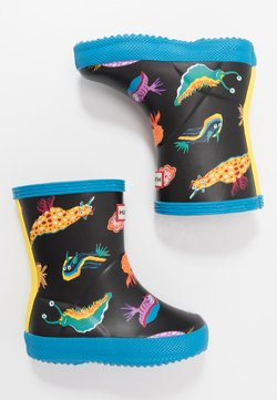 Hunter ORIGINAL - KIDS FIRST CLASSIC SEA MONSTER PRINT - Gummistiefel - blue bottle