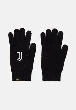 adidas Performance - JUVENTUS SPORTS FOOTBALL GLOVES UNISEX - Fingerhandschuh - black/white/pyrite