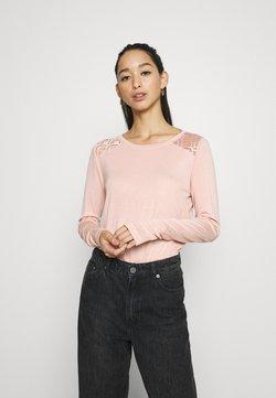 ONLY - ONLNICOLE LIFE NEW MIX  - Bluzka z długim rękawem - misty rose