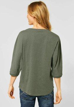 Cecil - MIT BLUMEN-DESIGN - Bluse - grün