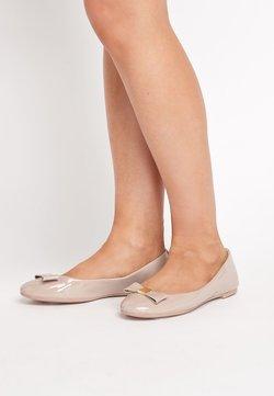 Next - Klassischer  Ballerina - beige
