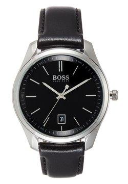 BOSS - CIRCUIT GIFT SET - Horloge - black/silver-coloured