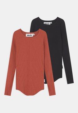Molo - ROCHELLE 2 PACK - Maglietta a manica lunga - black brick