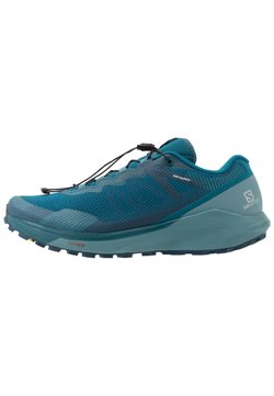 Salomon - SENSE RIDE 3 - Zapatillas de trail running - lyons blue/smoke blue/lemon zest