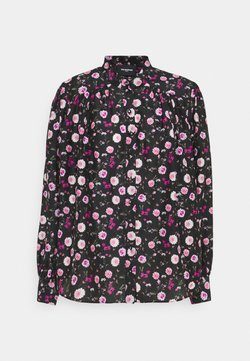 The Kooples - Bluse - black/pink