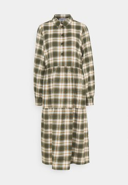 Noisy May - NMERIK LOOSE LONG DRESS - Blusenkleid - fir green