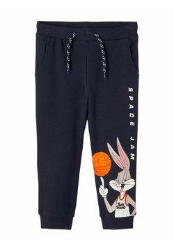 Name it - SWEATHOSE SPACE JAM - Pantalones deportivos - dark sapphire