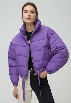 PULL&BEAR - Winterjacke - mottled purple