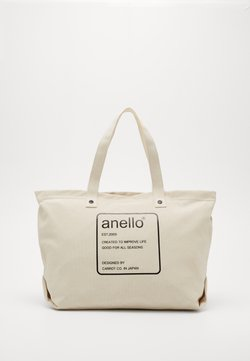 anello - AUBREY TOTE BAG  - Shoppingväska - natural