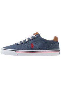 Polo Ralph Lauren - HANFORD - Sneaker low - newport navy/red