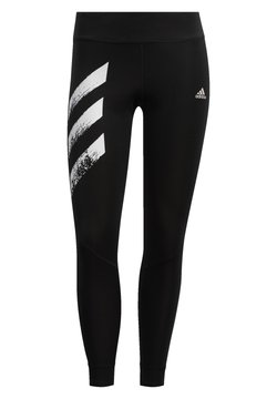 adidas Performance - OWN THE RUN -STRIPES FAST LEGGINGS - Medias - black