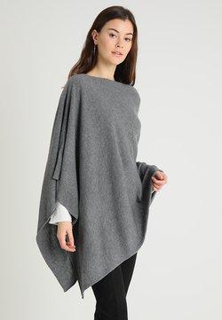 Part Two - KRISTANNA - Poncho - medium grey