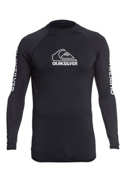 Quiksilver - QUIKSILVER™ ON TOUR - LANGÄRMLIGER RASHGUARD MIT UPF 50 FÜR MÄNN - T-shirt de surf - black