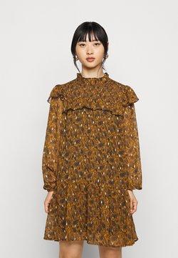 Object Petite - OBJVIOLETTA DRESS - Vestito estivo - honey ginger