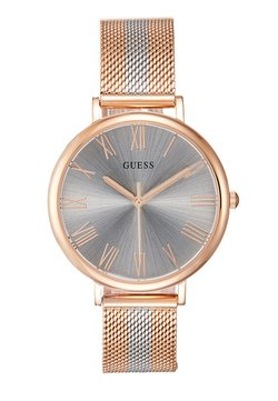 Guess - LADIES DRESS - Zegarek - rose gold-coloured/silver-coloured
