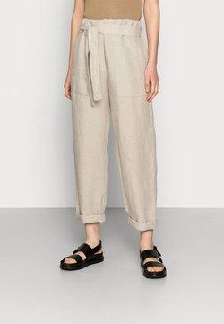 ARKET - TROUSER - Trousers - beige