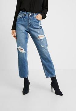Miss Selfridge Petite - MOM - Jeans Straight Leg - blue