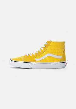 Vans - SK8-HI - Korkeavartiset tennarit - cyber yellow/true white