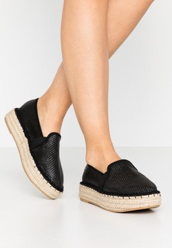 Dorothy Perkins Wide Fit - COMICO SLIP ON - Espadrilles - black