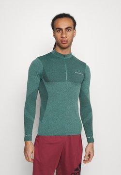 Endurance - JARO SEAMLESS MIDLAYER - Camiseta de manga larga - ponderosa pine