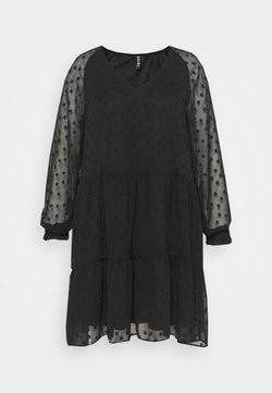 Pieces Curve - PCNUTSI DRESS - Freizeitkleid - black